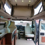 sportsmobile interior facing front