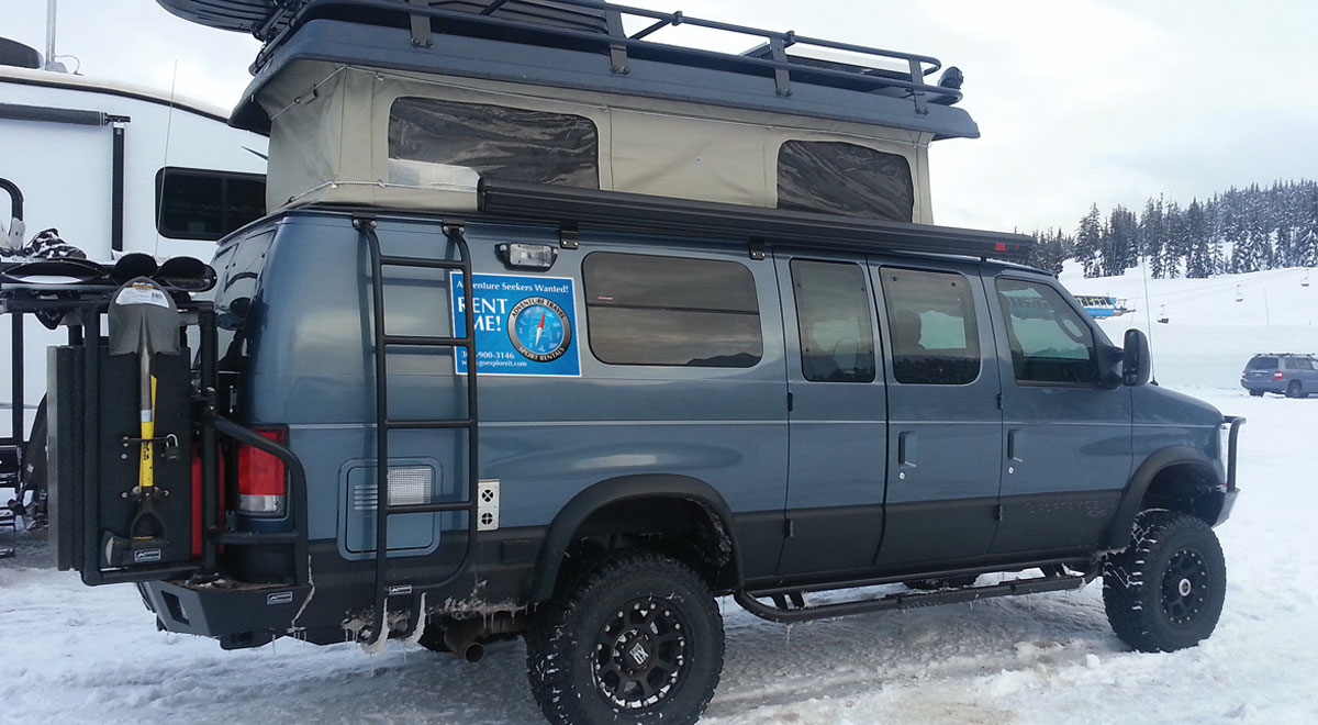 Mount Bachelor Oregon Adventure Vehicle Rentals